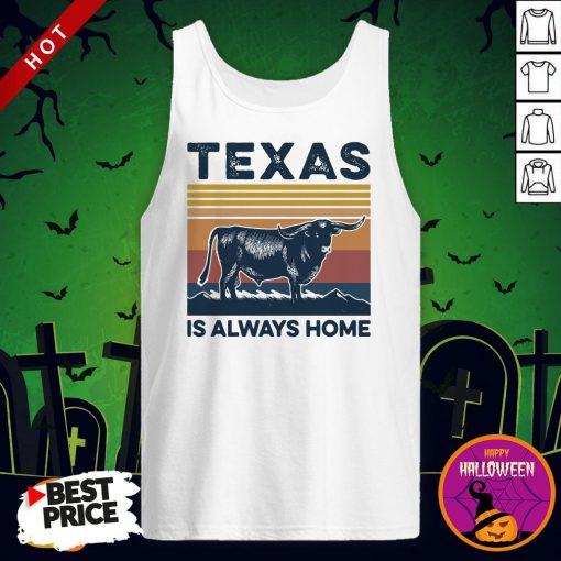 Texas Is Always Home Vintage Tank Top