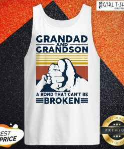 That Grandad And Grandson A Bond That Can't Be Broken Vintage Tank Top - Design By Girltshirt.com