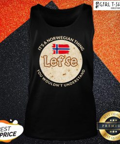 Train It's A Norwegian Thing Lefse You Wouldn't Understand Tank Top - Design By Girltshirt.com