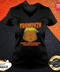 Trumpkin 2020 Make Halloween Great Again V-neck