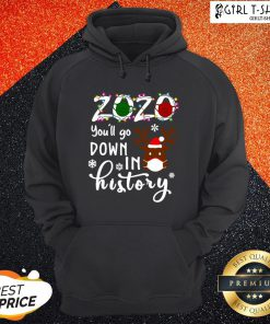 Understand 2020 You'll Go Down In History Christmas Hoodie - Design By Girltshirt.com
