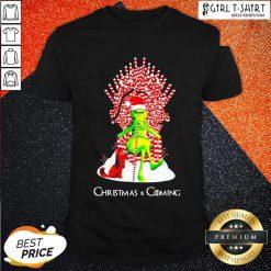 Well Grinch And Dog King Christmas And Coming Shirt- Design By Girltshirt.com