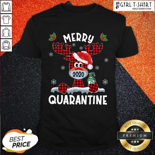 What Reindeer Face Mask 2020 Merry Christmas Quarantine Shirt - Design By Girltshirt.com