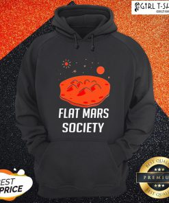 Wing Flat Mars Society Hoodie - Design By Girltshirt.com