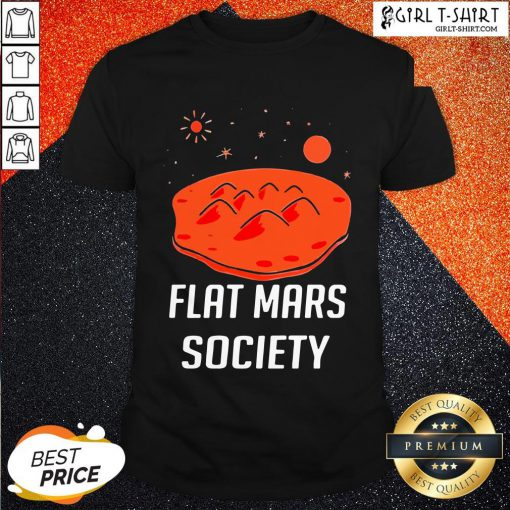Wing Flat Mars Society Shirt- Design By Girltshirt.com