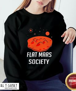 Wing Flat Mars Society Sweatshirt - Design By Girltshirt.com
