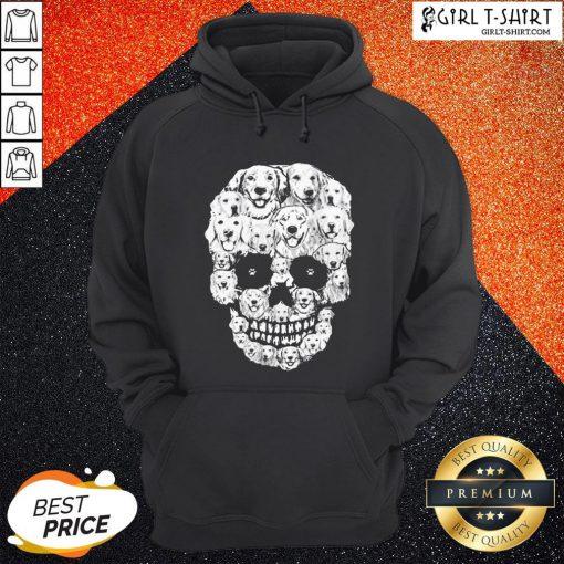 World Golden Retriever Skull Hoodie - Design By Girltshirt.com