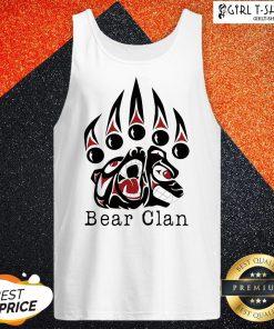 Wu Tang Clan Bear Clan Tank Top