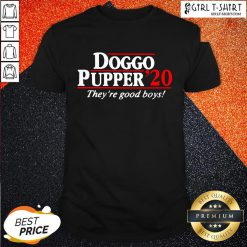 Young Doggo Pupper 2020 They Ae Good Boys Shirt - Design By Girltshirt.com