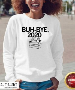 Buh Bye 2020 V-neck- Design By Girltshirt.com