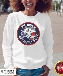Best Funny Joe Biden President 2020 American Vintage V-neck - Design By Girltshirt.com