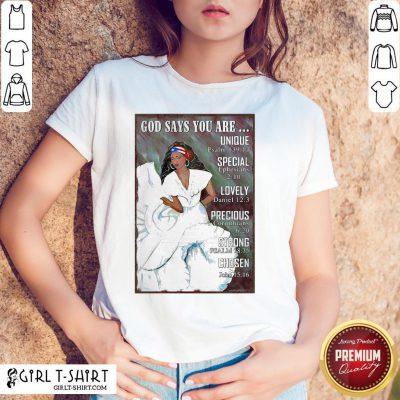 Best Puerto Rico Girl Bomba Dance Pr Girl God Says Vertical Poster Shirt - Design By Girltshirt.com