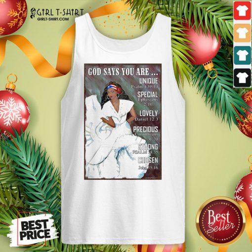 Best Puerto Rico Girl Bomba Dance Pr Girl God Says Vertical Poster Tank Top - Design By Girltshirt.com