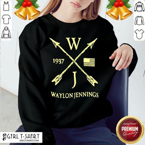 Better WJ 1937 Waylon Jennings Littlefield Sweatshirt - Design By Girltshirt.com