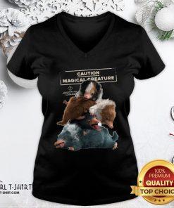 Cool Fantastic Beasts 2 Cuddle Puddle V-neck- Design By Girltshirt.com