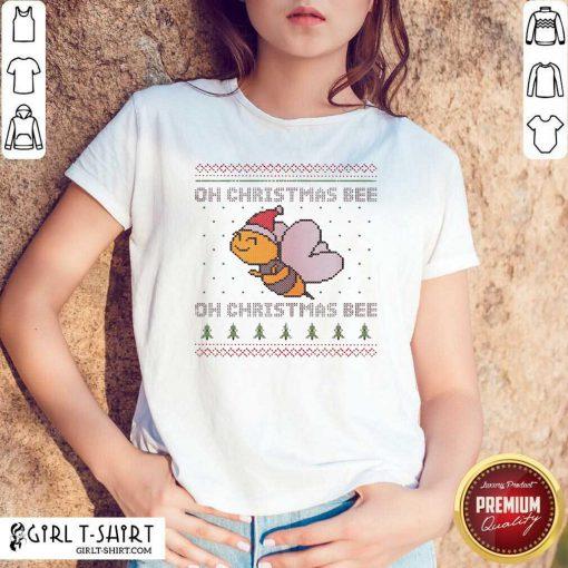 Oh Christmas Bee Ugly Christmas Shirt- Design By Girltshirt.com