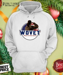 Wovet Proud To Have Served American Flag Hoodie- Design By Girltshirt.com