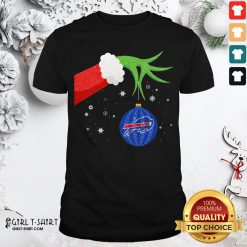 Different The Grinch Christmas Ornament Buffalo Bills Shirt - Design By Girltshirt.com