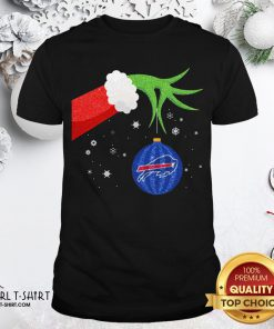Different The Grinch Christmas Ornament Buffalo Bills Shirt - Design By Girltshirt.com