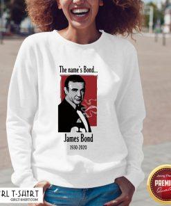 Do Rip The Name's Bond James Bond 1930 2020 V-neck - Design By Girltshirt.com