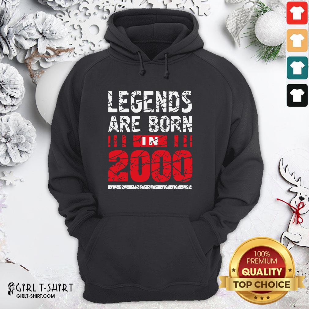 Frist Legends Are Born In 2020 Hoodie- Design By Girltshirt.com