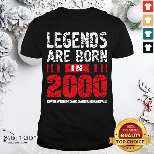 Frist Legends Are Born In 2020 Shirt- Design By Girltshirt.com