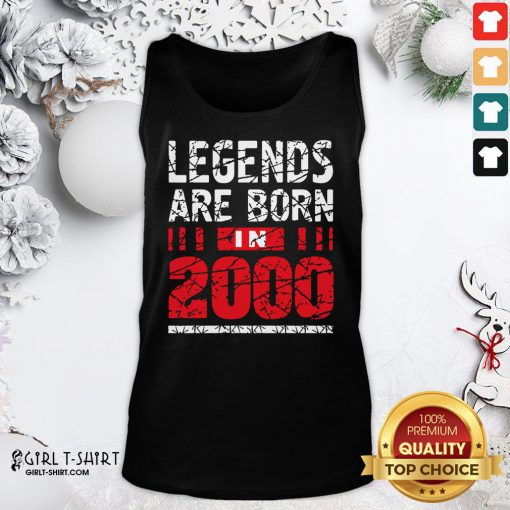 Frist Legends Are Born In 2020 Tank Top - Design By Girltshirt.com