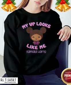 Funny Baby My Looks Like Me Kamala Harris Sweatshirt - Design By Girltshirt.com