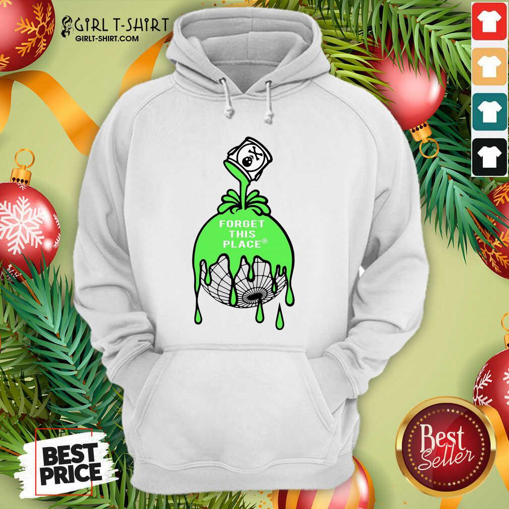 Funny Forget This Place Globe Hoodie - Design By Girltshirt.com
