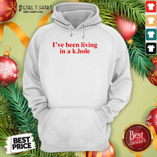 I've Been Living In A K Hole Hoodie- Design By Girltshirt.com