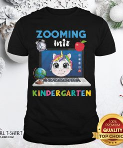 Funny Senior Zooming Into Kindergarten Shirt - Design By Girltshirt.com
