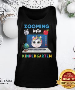 Funny Senior Zooming Into Kindergarten Tank Top - Design By Girltshirt.com