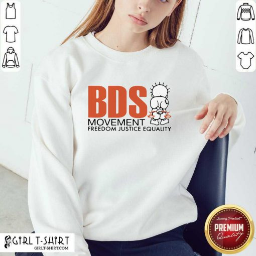 Good Bds Movement Freedom Justice Equality Sweatshirt- Design By Girltshirt.com