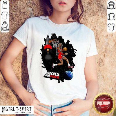 Kobe Bryant Kicks On Fire Shirt - Design By Girltshirt.com