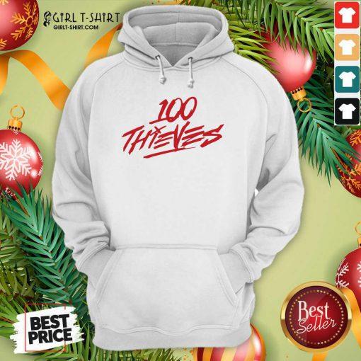 Los Angeles 100 Thieves Hoodie- Design By Girltshirt.com