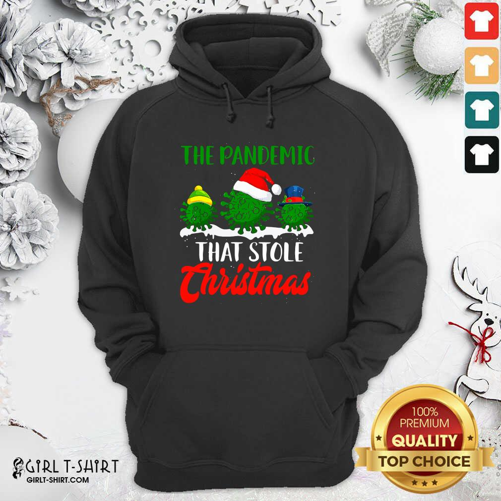 Happy The Pandemic That Stole Christmas 2020 Virus Corona Hoodie- Design By Girltshirt.com