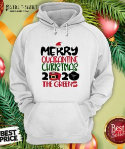 Happy Toilet Paper Merry Quarantine Christmas 2020 The Greens Hoodie - Design By Girltshirt.com