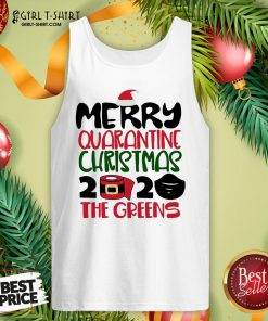 Happy Toilet Paper Merry Quarantine Christmas 2020 The Greens Tank Top - Design By Girltshirt.com