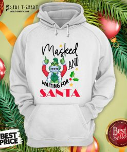 Hard Masked And Waiting For Santa Christmas Hoodie - Design By Girltshirt.com