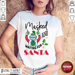 Hard Masked And Waiting For Santa Christmas Shirt - Design By Girltshirt.com
