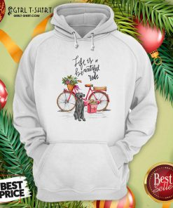 Great Dane Bike Like A Beautiful Ride Hoodie - Design By Girltshirt.com
