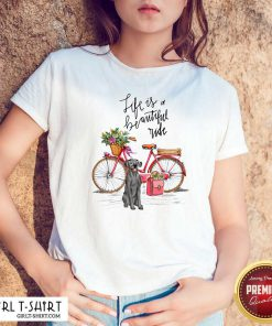 Great Dane Bike Like A Beautiful Ride Shirt - Design By Girltshirt.com