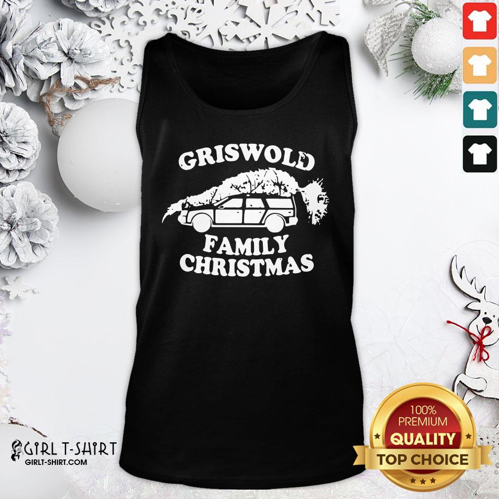 How Griswold Family Christmas 2021 Tank Top - Design By Girltshirt.com