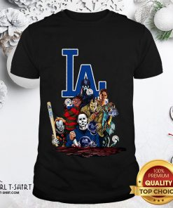 My Horror Movies Characters Los Angeles Dodgers 2020 World Series Champions Shirt- Design By Girltshirt.com