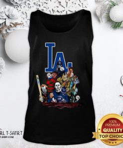 My Horror Movies Characters Los Angeles Dodgers 2020 World Series Champions Tank Top - Design By Girltshirt.com