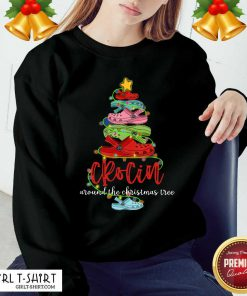 Crocin Around The Christmas Tree Sweatshirt - Design By Girltshirt.com