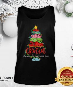 Crocin Around The Christmas Tree Tank Top - Design By Girltshirt.com