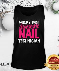 Technician Artist Manicurist Tank Top- Design By Girltshirt.com