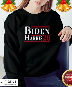Nice Joe Biden Kamala Harris 2020 Election Democrat Liberal Unisex Sweatshirt- Design By Girltshirt.com
