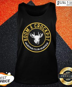 Official Good Boom And Crockpot Hunter Club Hunter Tank Top - Design By Girltshirt.com